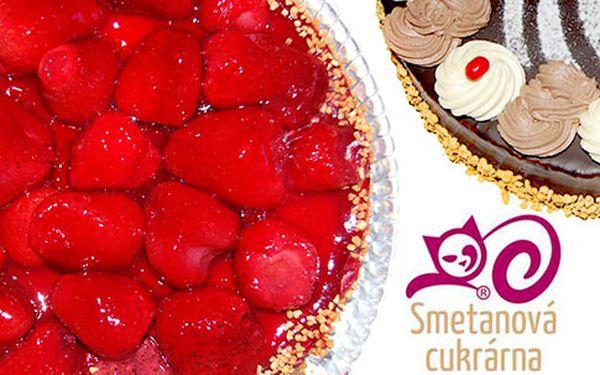 Vynikající čerstvý dort – 4 druhy