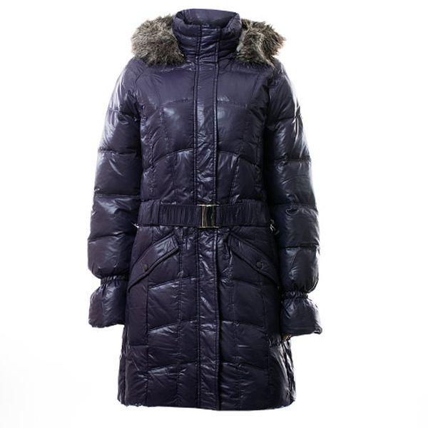Tmavě modrý kabát Vanja