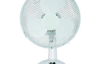 Otočný stolní ventilátor se 2 rychlostmi