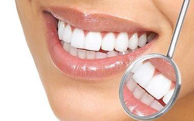 Bělení zubů bez peroxidu se slevou 84 %!