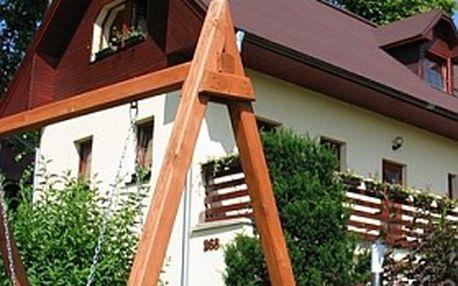 Nezapomenutelný pobyt: 4 dny pro 2 osoby v komfortním apartmánu ADA poblíž Liptovského Mikuláše na SLOVENSKU!