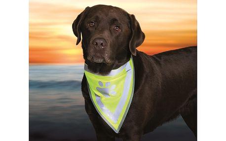 Reflexní šátek Trixie pro psa M - L