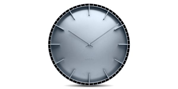 Nástěnné hodiny Grey Dome, 45 cm z řady All Square