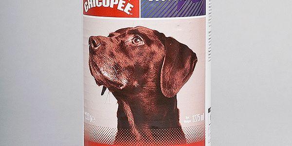 Chicopee konzerva s hovězími kostkami, 400g