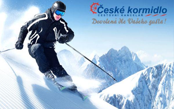5denní lyžařský zájezd do Itálie, Paganella*** – doprava, skipas a polopenze