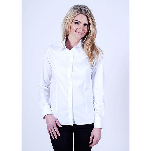 Bílá košile Pontto s dlouhým rukávem
