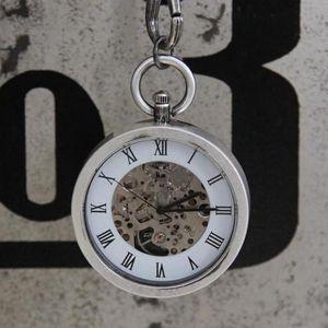 Kapesní hodinky Silver antik