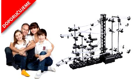 Obří kuličková dráha SPACERAIL level 4! Skvělá zábava pro děti, ale i celou rodinu.