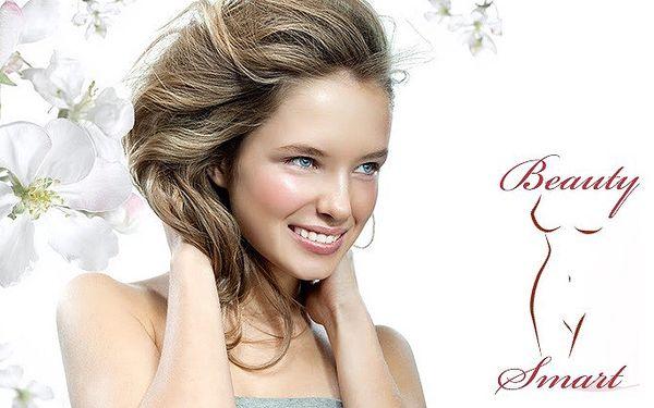 Kosmetické ošetření pleti 1+1 zdarma v salónu Beauty smart