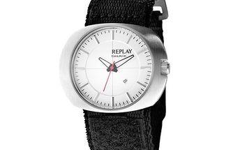 Dámské hodinky s textilním náramkem Replay