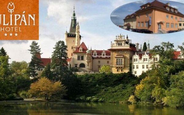 PRŮHONICE u Prahy: 3 dny v hotelu Tulipán*** pro 2