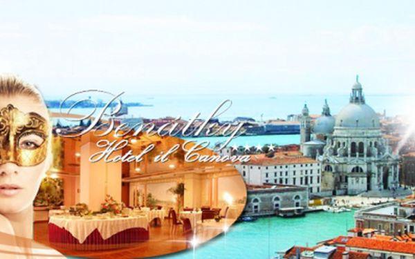 Dopřejte si 4* luxus při pobytu v Itálii poblíž Benátek v hotelu il Canova! 4 dny pro 2 osoby s bohatým snídaňovým rautem a volným vstupem do fitness za báječných 3390 Kč! Objevte Benátsko a region Veneto! Voucher platný 1 rok!