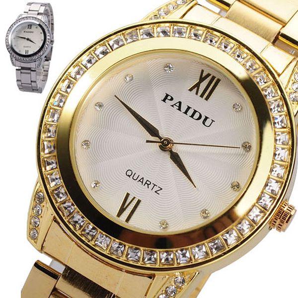 Dámské luxusní hodinky Paidu - ve 2 barvách a poštovné ZDARMA! - 261