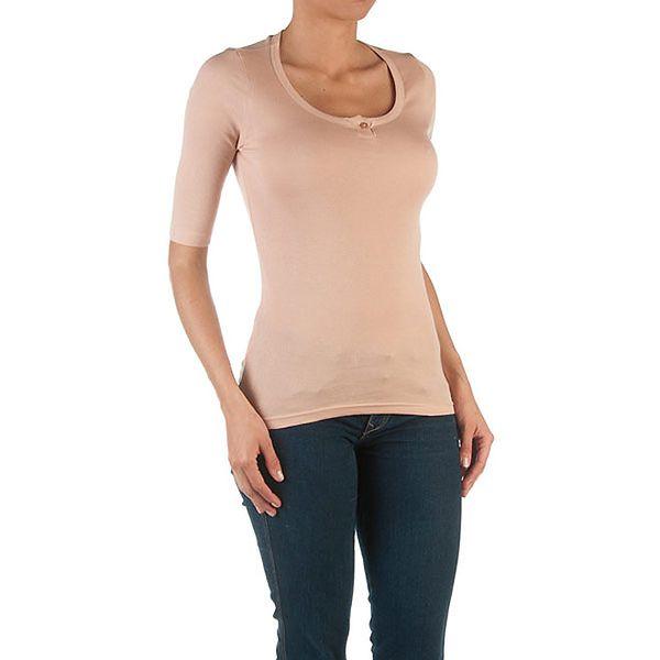 Dámské růžové tričko se 3/4 rukávy Womens Secret
