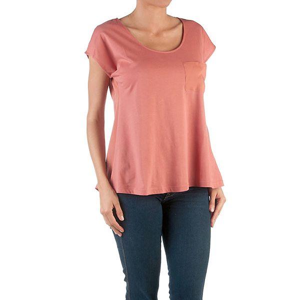 Dámské volné růžové tričko Womens Secret