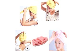 Ručníkový turban pro mokré vlasy a poštovné ZDARMA! - 620