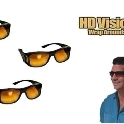 Brýle Vision pro sportovce a řidiče.