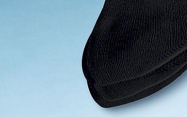 Bambusové ponožky, černá, 35 - 38