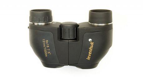 Binokulární dalekohled Levenhuk Bino Ultra 6x18 - kvalita do Vaší cestovatelské výbavy!