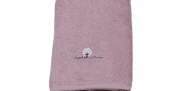 Růžový ručník (50 x 90 cm)