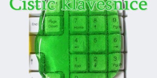 Čistič klávesnic a ovladačů včetně poštovného!
