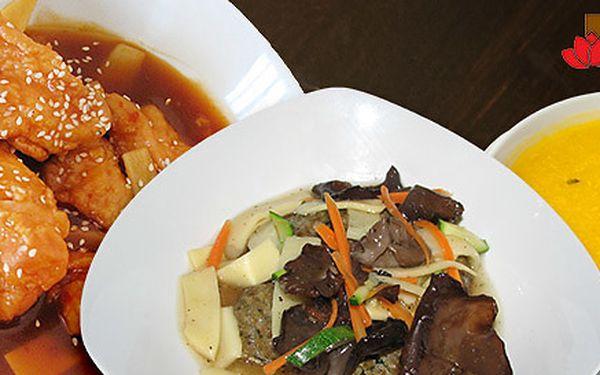 Zážitkové menu pro dva v Lotos Restaurantu
