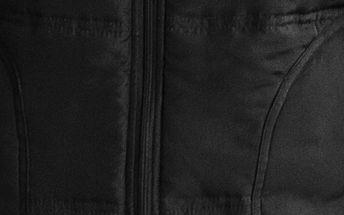 Dámská prošívaná vesta, černá, M
