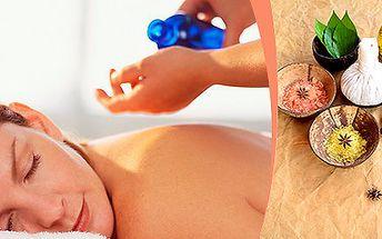 Antistresová masáž pro harmonii celého těla i duše