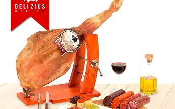 4 kg luxusní španělské šunky Jamón Serrano včetně DOPRAVY!