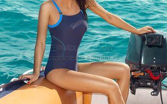 Velmi pohodlné jednodílné plavky Paola značky Primo sportovního střihu
