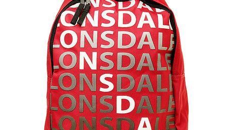 Pánský červený batoh Lonsdale