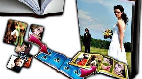 Fotokniha A4 nebo A3 s pevnou vazbou a kvalitním tiskem