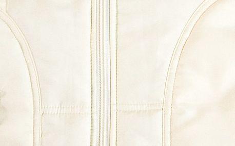 Dámská prošívaná vesta, béžová, M