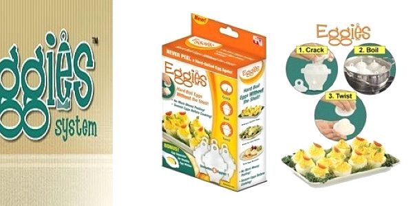 Revoluce ve vaření vajíček! Forma na vajíčka Eggies - šikovné nádobky na vaření vajíček jen za 179 Kč. Už žádné skořápky po vajíčkách. Ušetřete čas a nervy při loupání vajíček a uvařte si je přesně podle vaší chuti!