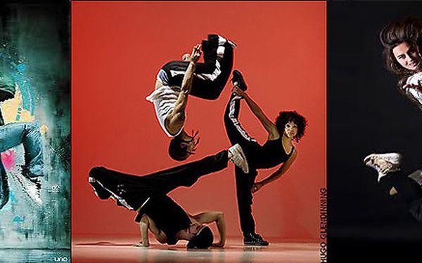 Vstup na 6 lekcí Street Dance pro začátečníky