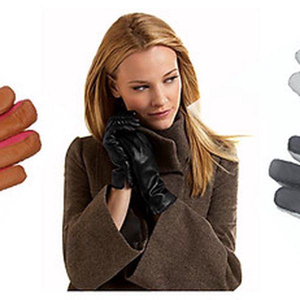 Luxusní kožené rukavice Pierre Deluxe - navrhněte si vlastní barevnou kombinaci