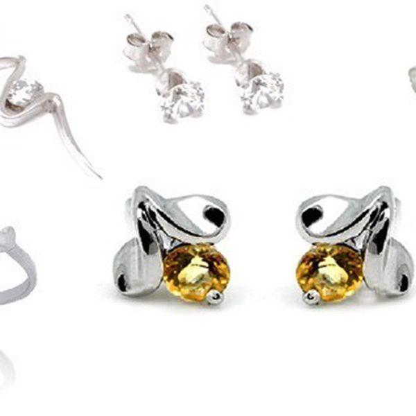 Luxusné šperky vyrobené zo striebra 925/1000, kamene zo syntetických diamantov zirkónov a dokladom rýdzosti teraz s 56% zľavou!