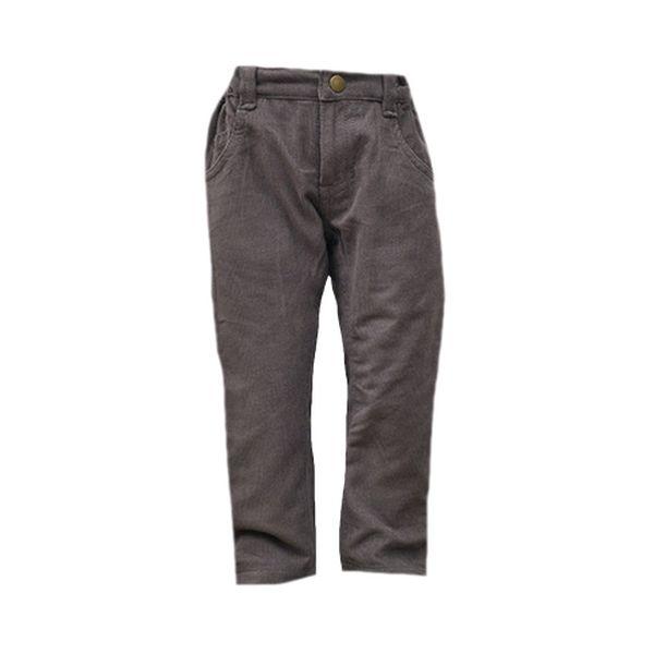 Hnědé manžestrové kalhoty (větší děti)