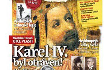 Předplatné časopisu OTAZNÍKY HISTORIE + 3 čísla Historické červené knihovny jen za 99 Kč místo 548 Kč. Zjistěte, jak to všechno vlastně bylo!