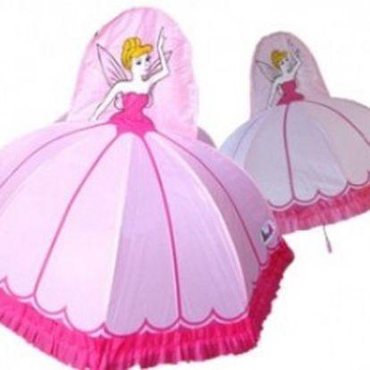 Deštník Pink Princess. Vaše malá princezna již nikdy nezmokne.