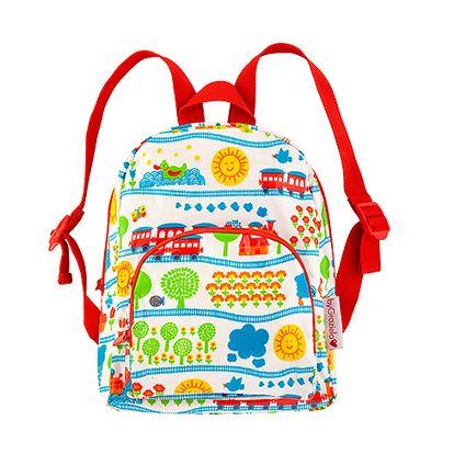 Dětský batoh s vláčky