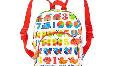 Dětský batoh s číslicemi
