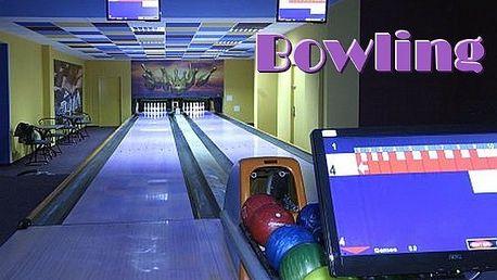 1 hodina bowlingu až pro 8 lidí za 69 Kč!!!