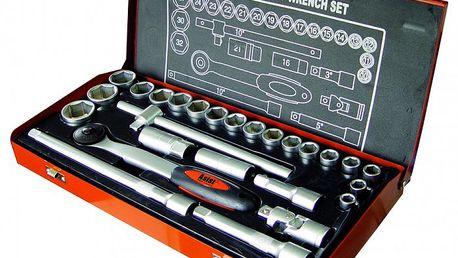 26-ti dílná gola sada Asist 26-2321 vyrobena z chromo-vanadové oceli