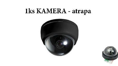 Chraňte svůj majetek, atrapa kamery účinně pomůže!...