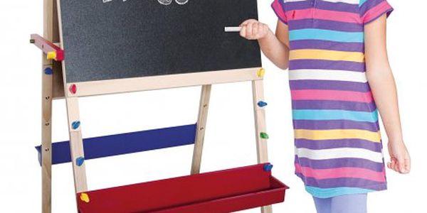 Woody praktická dřevěná tabule oboustranná