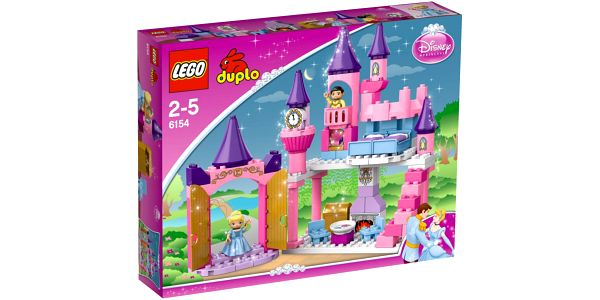 Stavebnice LEGO DUPLO Princezny 6154 Popelčin zámek