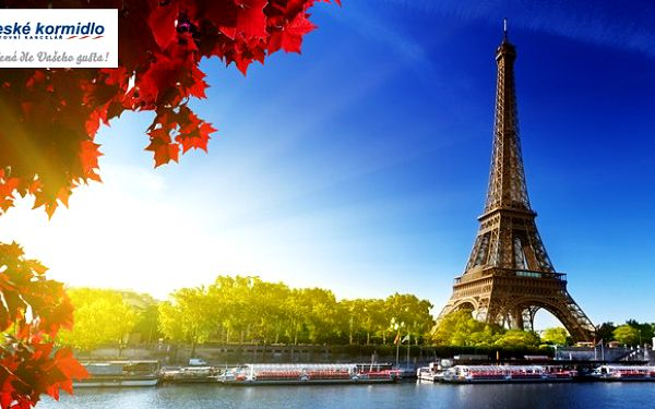Zájezd do Paříže sleva 27 %!