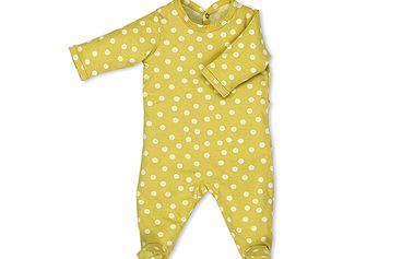 Dětské pyžamo Babyboum SPOTY Lime