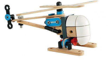 Brio Builder - stavebnice vrtulník
